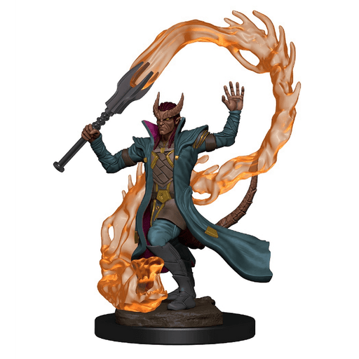 Mini - D&D Icons of the Realms Premium : Tiefling Sorcerer (Male)