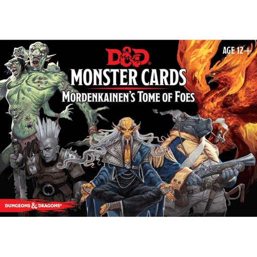 D&D (5e) Monster Cards : Mordenkainen's Tome of Foes