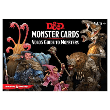 D&D (5e) Monster Cards : Volo's Guide to Monsters