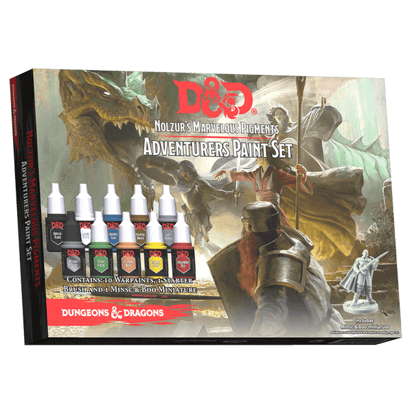 D&D Nolzur's Marvelous Pigments : Adventurers Paint Set