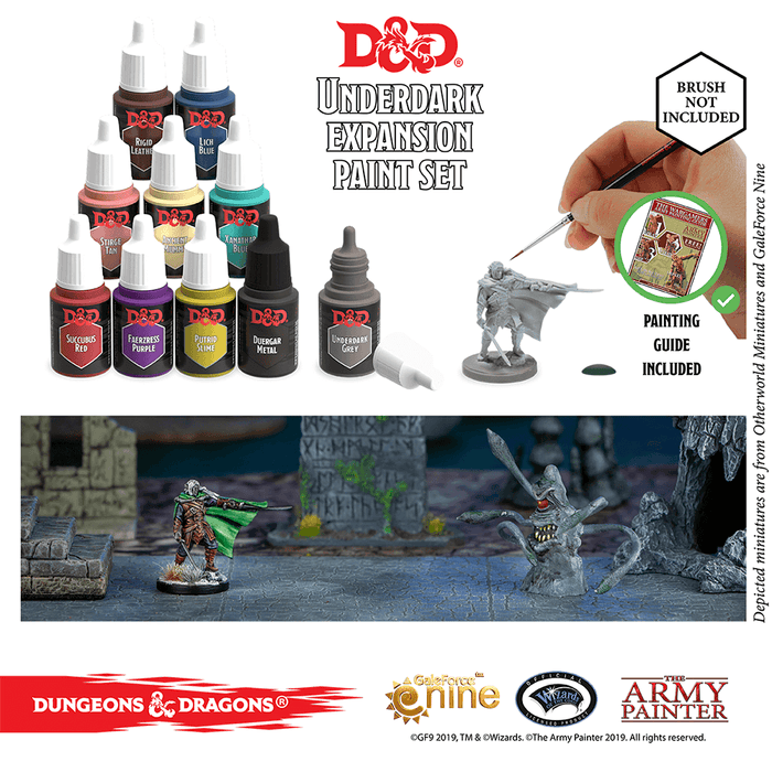 D&D Nolzur's Marvelous Pigments : Underdark Paint Set