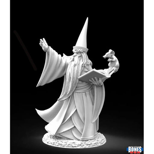 Mini - Reaper Bones USA 30002 Darius the Blue (Human Wizard)