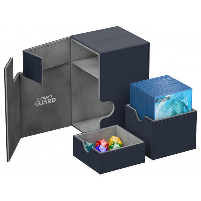 Deck Box Ultimate Guard Flip'n'Tray (120ct) Blue