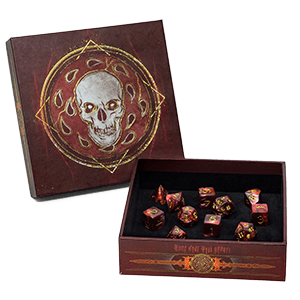 D&D Premium Dice Set : Descent Into Avernus