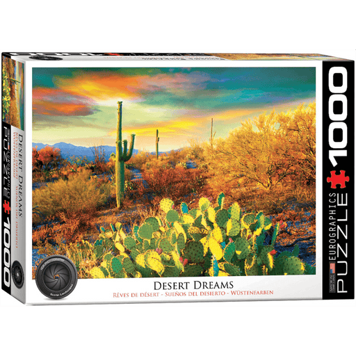 Puzzle (1000pc) HDR Photography : Desert Dreams