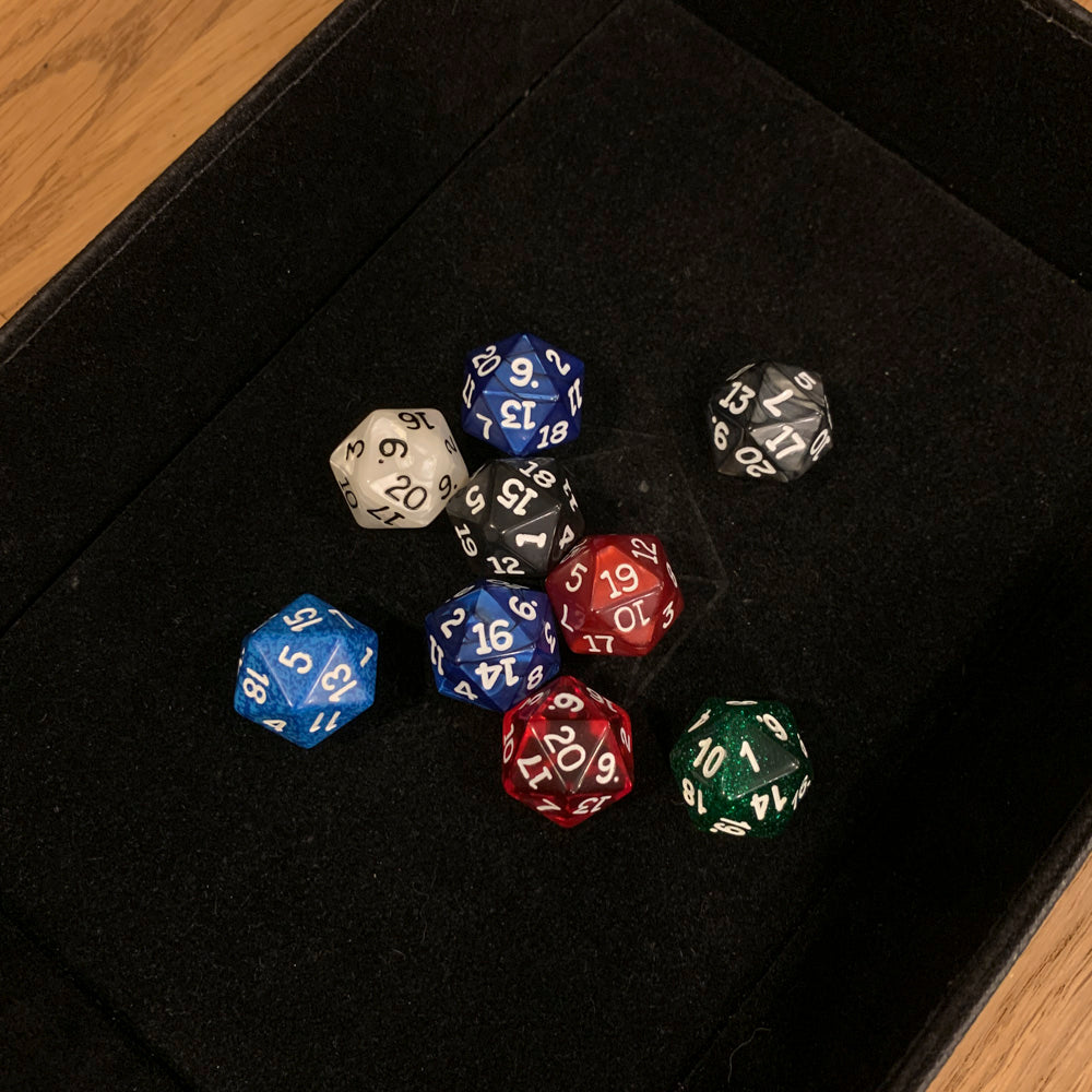 Polyhedral Dice d20 : Assorted