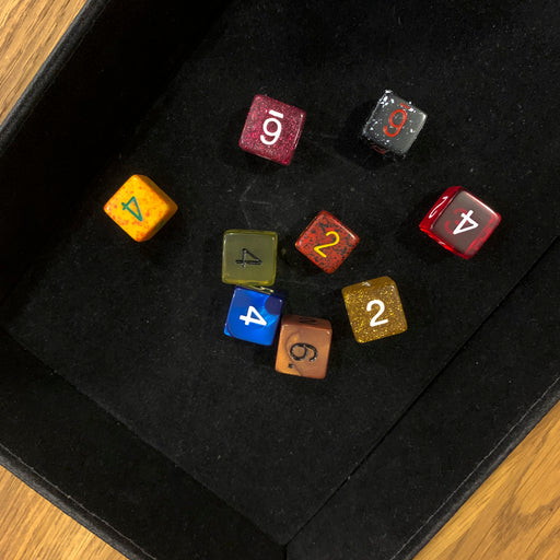 Polyhedral Dice d6 : Assorted