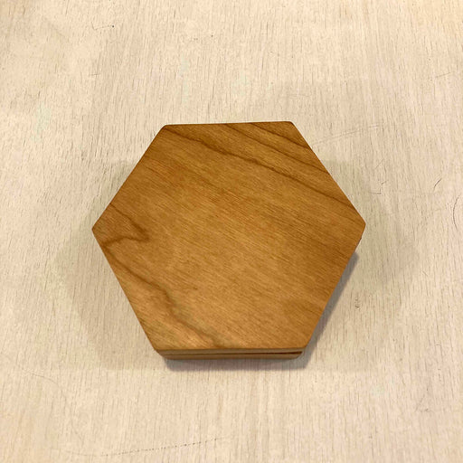 Wood Box Dice Hive Cherry