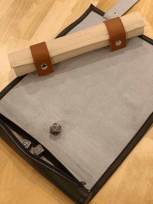 Scroll of Rolling (10x14in) Tan