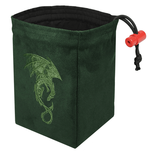 Dice Bag Baroque (4x4x6in) Dragon