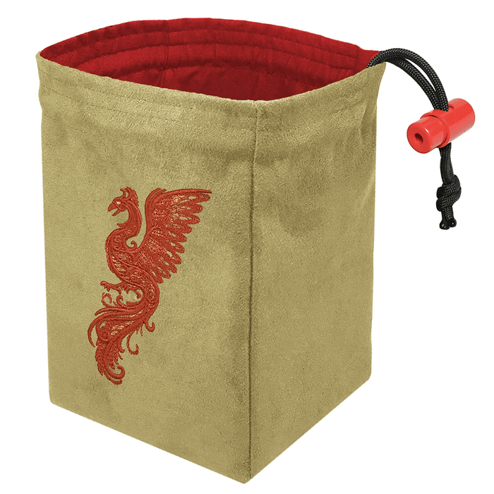 Dice Bag Baroque (4x4x6in) Phoenix