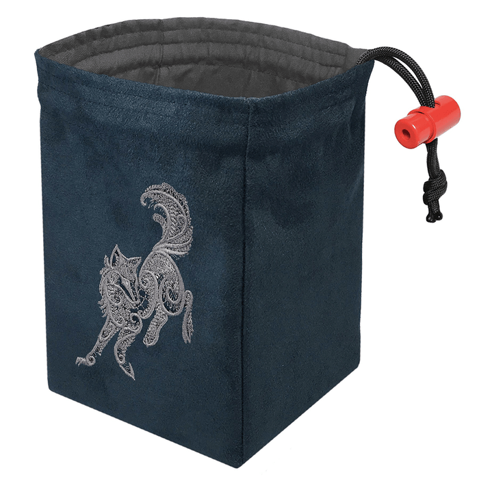 Dice Bag Baroque (4x4x6in) Wolf