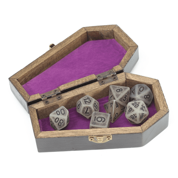 Wood Box (3x5) Dice Coffin
