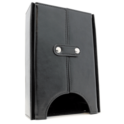Dice Tower Leather Black