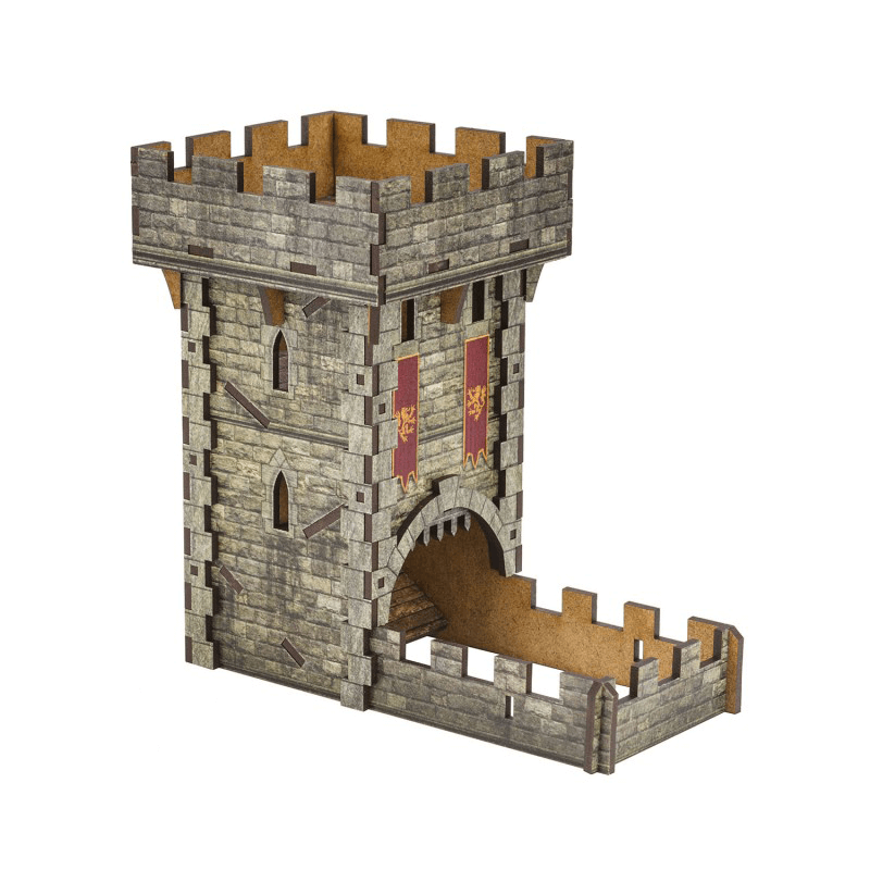 Dice Tower Medieval Color