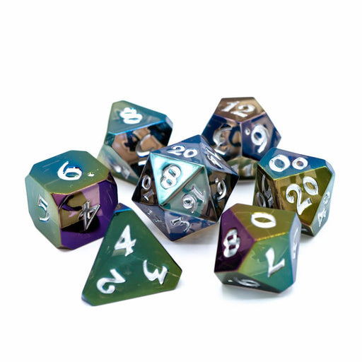 Dice 7-set Avalore Prismatic (16mm) Nightmare