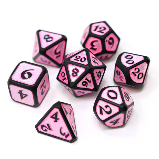 Dice 7-set Metal Mythica (16mm) Dreamscape Aphrodite