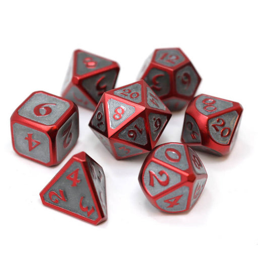 Dice 7-set Metal Mythica (16mm) Infernal Succubus