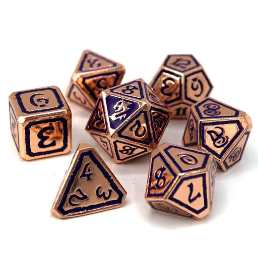 Dice 7-set Metal Storm Forged (16mm) Queens of Gilded Ruin