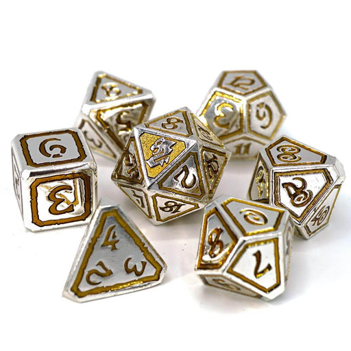 Dice 7-set Metal Storm Forged (16mm) Usurpers of Gilded Ruin