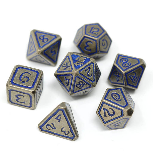Dice 7-set Metal Unearthed (16mm) Leviathan
