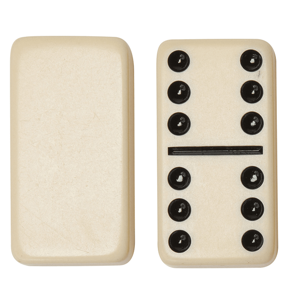 Dominoes (White) Vinyl Case