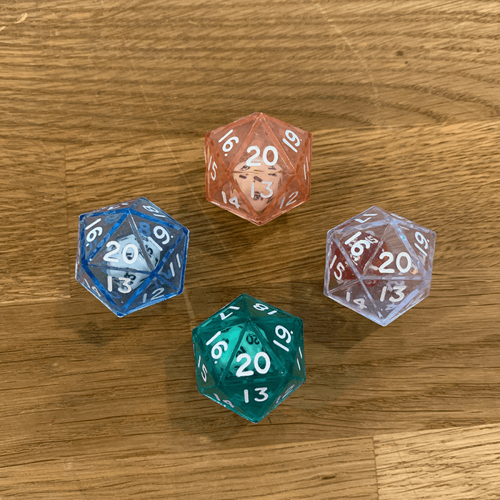 Polyhedral Dice d20 (26mm) Double d20