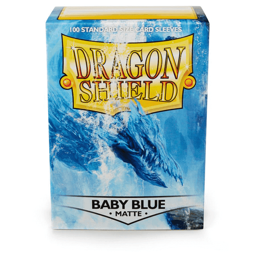Sleeves Dragon Shield (100ct) Matte : Baby Blue
