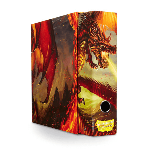 Binder Slipcase Dragon Shield Red