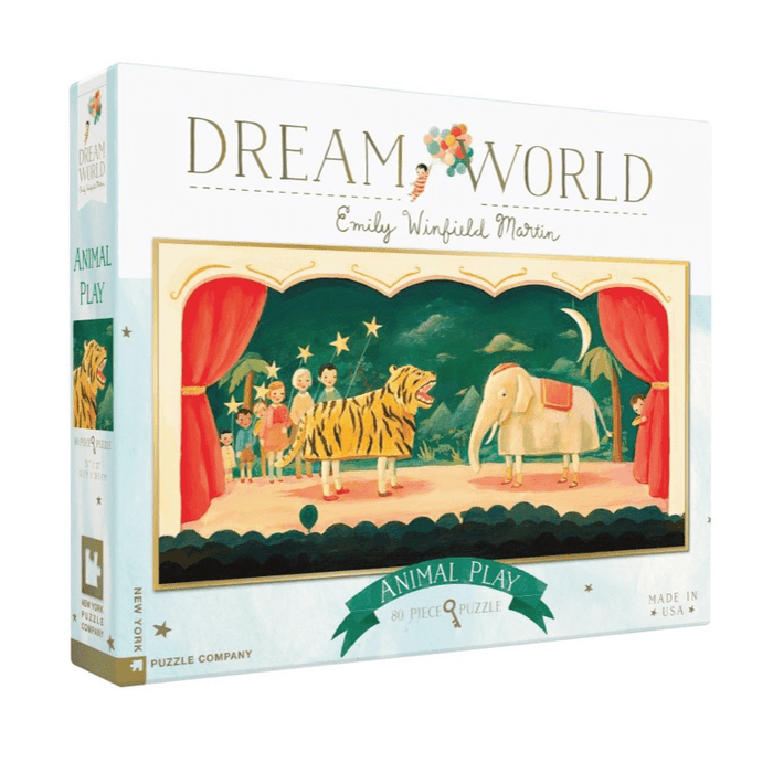 Puzzle (80pc) Dream World : Animal Play
