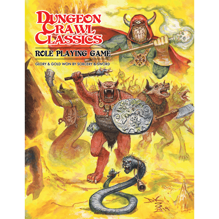 Dungeon Crawl Classics (8th ed) Core Rulebook (Beastman Soft Cover)