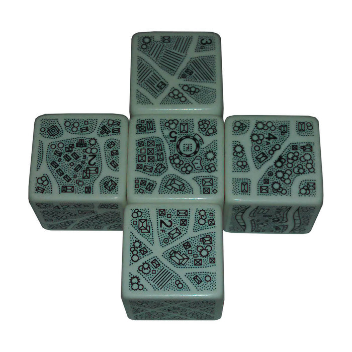 DungeonMorph Dice 5ct (25mm) Villages