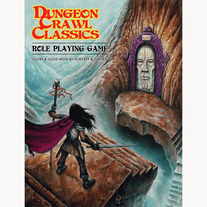 Dungeon Crawl Classics (5th ed) Core Rulebook (Soft Cover)