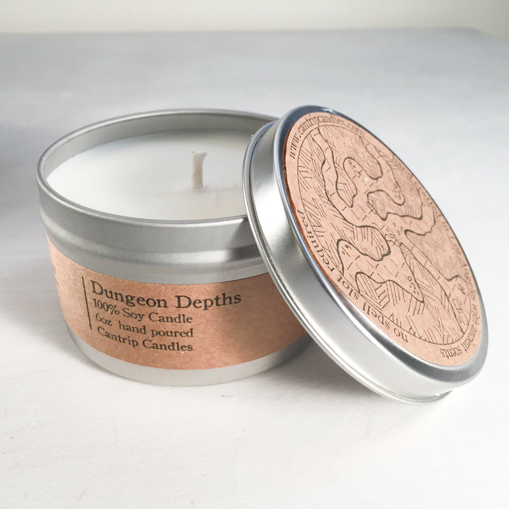 Cantrip Candles (6oz) Dungeon Depths