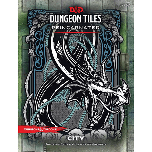 D&D (5e) Dungeon Tiles Reincarnated : City