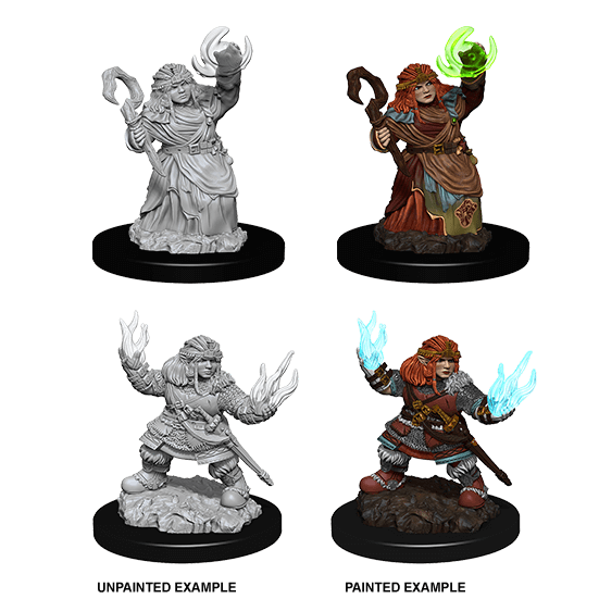 Mini - Pathfinder Deep Cuts : Dwarf Summoner (Female)