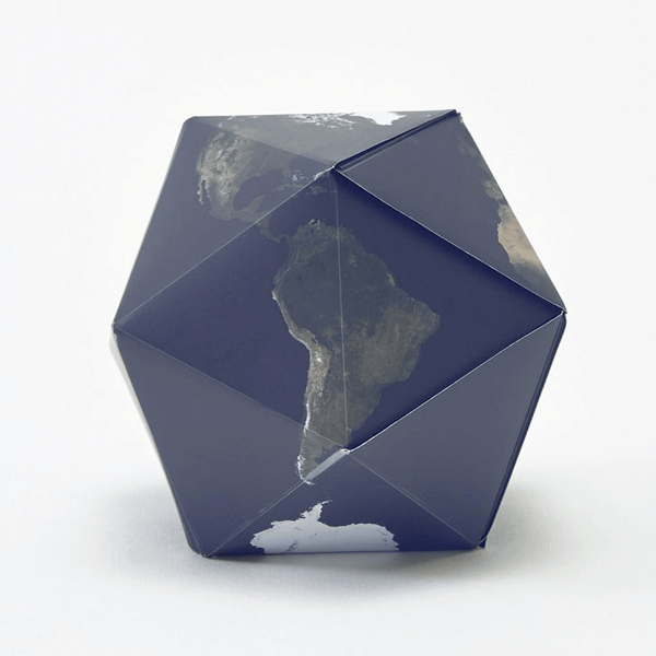 Dymaxion Globe (Satellite Earth)