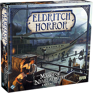 Eldritch Horror Expansion : Masks of Nyarlathotep