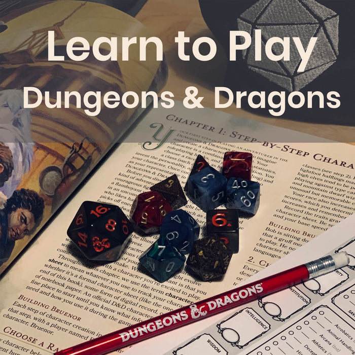 Class | D&D Learn to Play - Saturday Monthly @ 6p