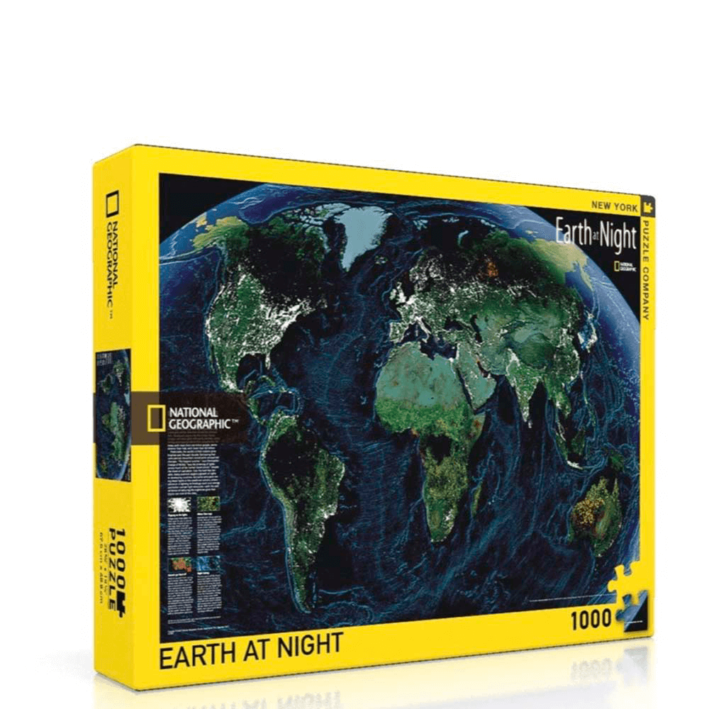 Puzzle (1000pc) National Geographic : Earth at Night