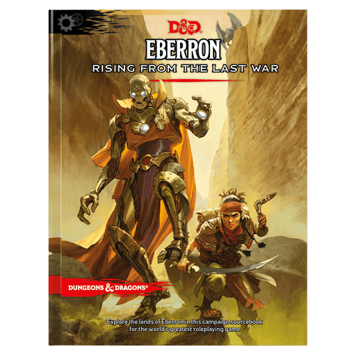 D&D (5e) Eberron: Rising from the Last War