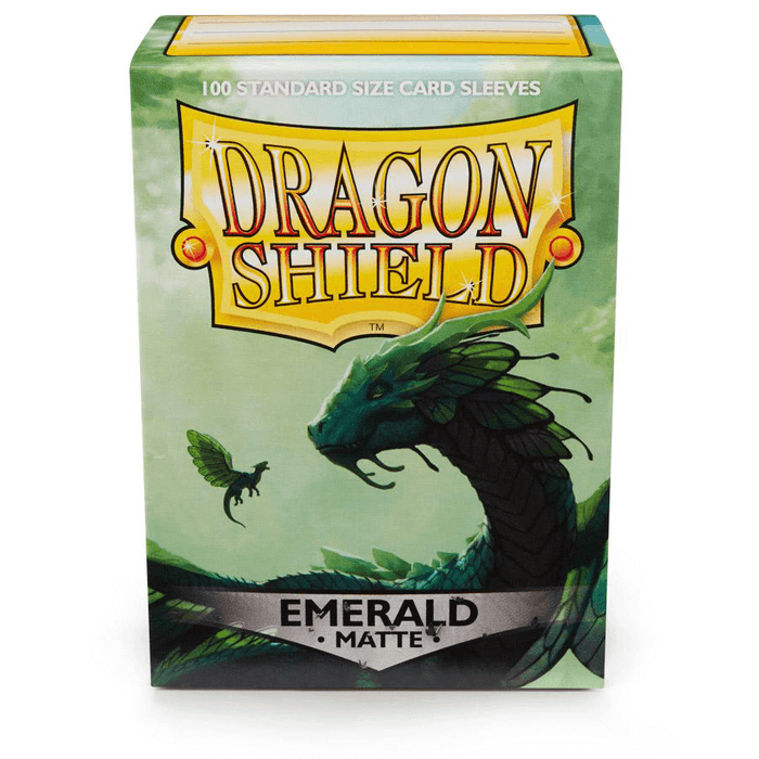 Sleeves Dragon Shield (100ct) Matte : Emerald