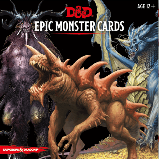 D&D (5e) Monster Cards : Epic Monster Cards
