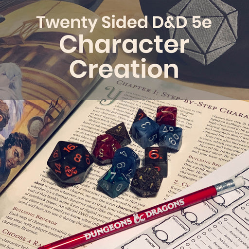 Workshop | D&D 5e Character Creation