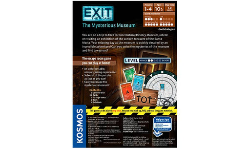 Exit : The Mysterious Museum