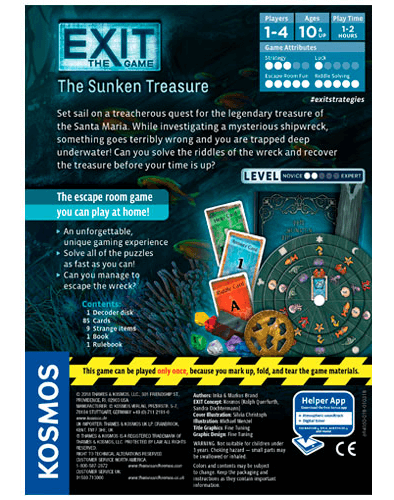 Exit : The Sunken Treasure