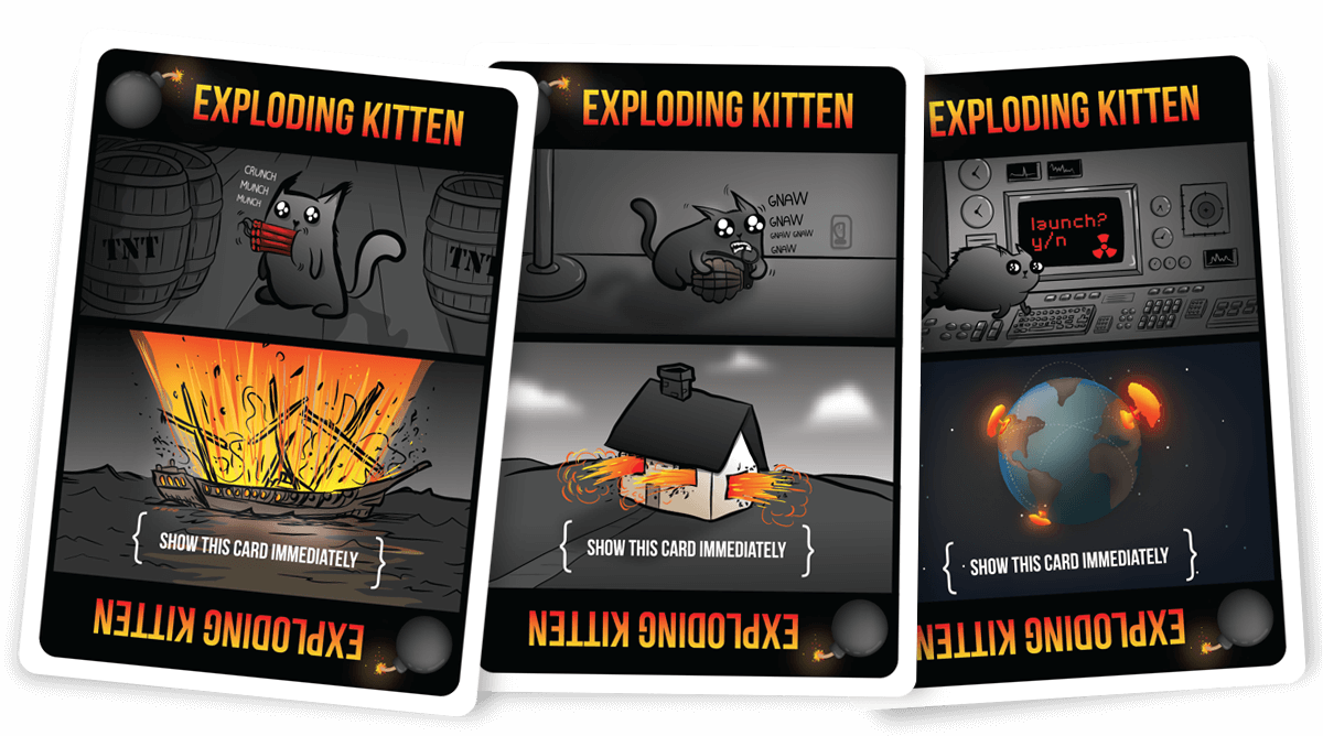 Exploding Kittens NSFW Black Box