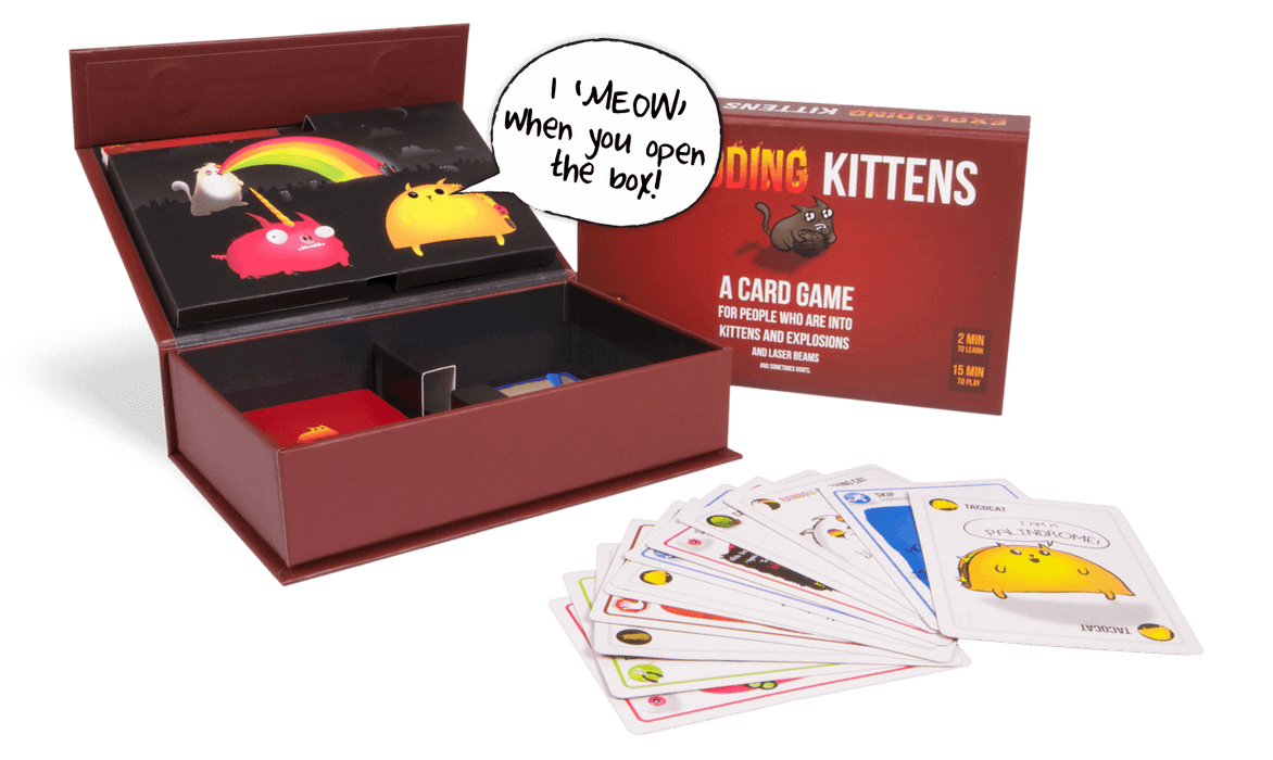 Exploding Kittens (1st ed) Meowing Box