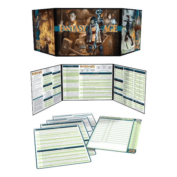 Fantasy AGE GM Screen Kit