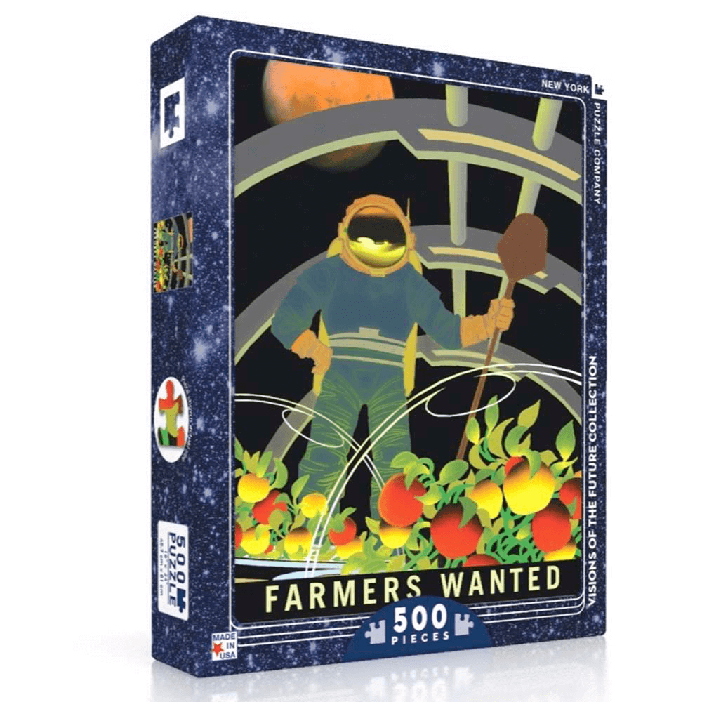 Puzzle (500pc) Visions of the Future : Farmers Wanted